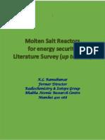 Literature on moleten salt reactors