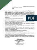 CIRCULAR DE BECA 2019