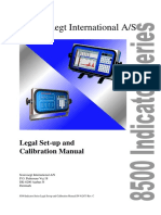 Legal Setup and Calibration Manual