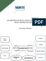 AULA 03 - ALGORITMO DE BUSCA SEQUENCIAL E BINÁRIA EM LISTAS