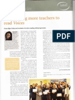 Encouraging more teachers to read IATEFL Voices