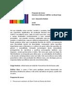 Curso Literatura LGBTQ Sesc Paulista