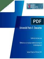 DOC 5 CDC Paris 5 Projet de Rapport