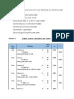 Management Accounting & Analysis