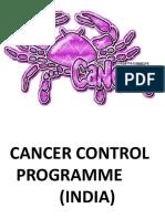 cancer control programme