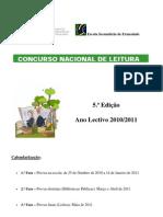 Regulamento do Concurso Nacional de Leitura -  1.ª Fase