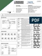 Datasheet Timer TE-8812U