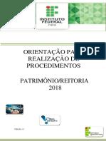 Orientações - Procedimentos  Patrimônio-Reitoria - 2018.pdf
