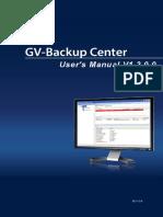 Manual GV-Backup center
