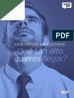 Guía de orientacion para el postulante - PDS.pdf