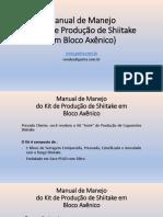 Manual de Manejo do Kit de Shiitake