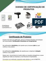 Treinamento Certificação de Produto