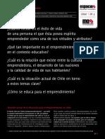 Educación y emprendimiento