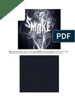 Текст из дыма