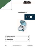 Hettich Haematokrit 210 User_manual