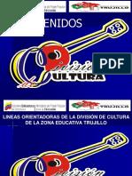 PONENCIA CULTURA LINEAS ORIENTADORAS