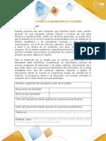 Formato para la elaboración de una Reseña ETICA