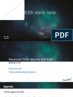BRKSEC-3770  Advanced Email Security with ESA