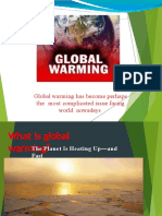GLOBAL WARMING FC