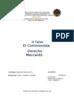 Taller 3 de Derecho Mercantil
