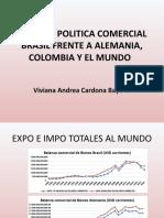 PRESENTACIÓNANALISIS POLITICA COMERCIAL BRASIL FRENTE A ALEMANIA,