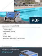 dolphin maytronics pool robot instructions for use m600