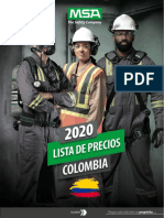 Lista Precios MSA 2020