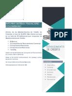 Informe del Sistema Financiero Colombiano Diciembre 2019