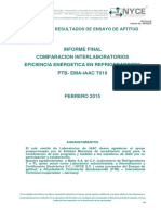 PT T010 Final Report Energy Efficiency in Refrigerators
