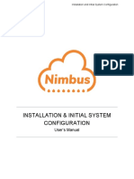 Indonesia_NIMBUS Installation and Initial System Configuration Manual V1.2.0.0