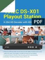 AREC DS-X01 datasheet