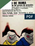 Furtado, Herrera, Varsavsky - El Club de Roma, anatomía de un grupo de presión