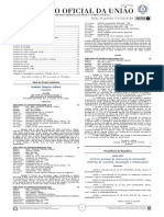 Diário Oficial da União (DOU) Ano CLVIII N° - 48 ,Quarta-Feira, 11 de março de 2020 - Seção 1 - Completo
