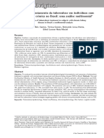 Desfecho do tratamento da tuberculose em indivíduos com doença renal crônica no Brasil uma analise multinominal - 2013