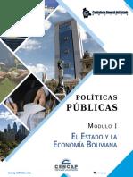 Módulo 1 Políticas Públicas - El Estado y la Economía Boliviana