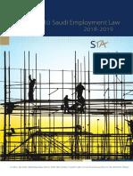Saudi Employment Law Guide 2018-19