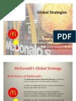 McDonald's Global Strategy