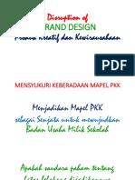 DESRUPTION OF GRAND DESIGN PKK