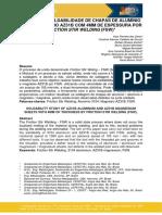 [Santos et al 2019] ESTUDO DA SOLDABILIDADE DE CHAPAS DE ALUMÍNIO 3104 E MAGNÉSIO AZ31B COM 4MM DE ESPESSURA POR FRICTION STIR WELDING (FSW).pdf