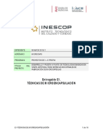 E1-TECNICAS DE MICROENCAPSULACION
