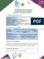 Guía de actividades y rúbrica de evaluación - Escenario 2 - Excelencia profesional.docx