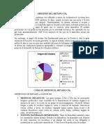 ORIGENES DEL METANO CH4 Y OBTENCION DEL METANO.docx