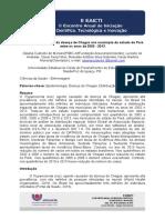 Distribuição espacial da doença de Chagas nos município do estado do Pará entre os anos de 2002 – 2013 (Artigo)