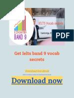 Get Ielts band 9 vocab secrets