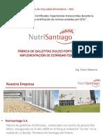 NutriSantiago - FÁBRICA DE GALLETITAS DULCES FORTIFICADAS