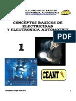 Conceptos de Electricidad y electronica automotriz