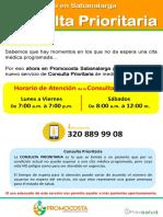 Afiche_Consulta Prioritaria_Sabanalarga