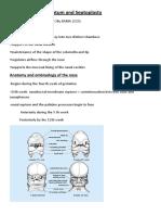 Disease of Nasal septum and Septoplasty