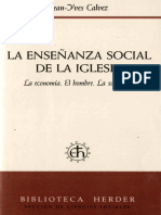 La enseñanza social de la iglesia - J. Y. Calvez.pdf