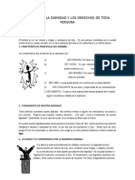 TEMA DEFENSA DE LA DIGNIDAD Y LOS DERECHOS DE TODA PERSONA